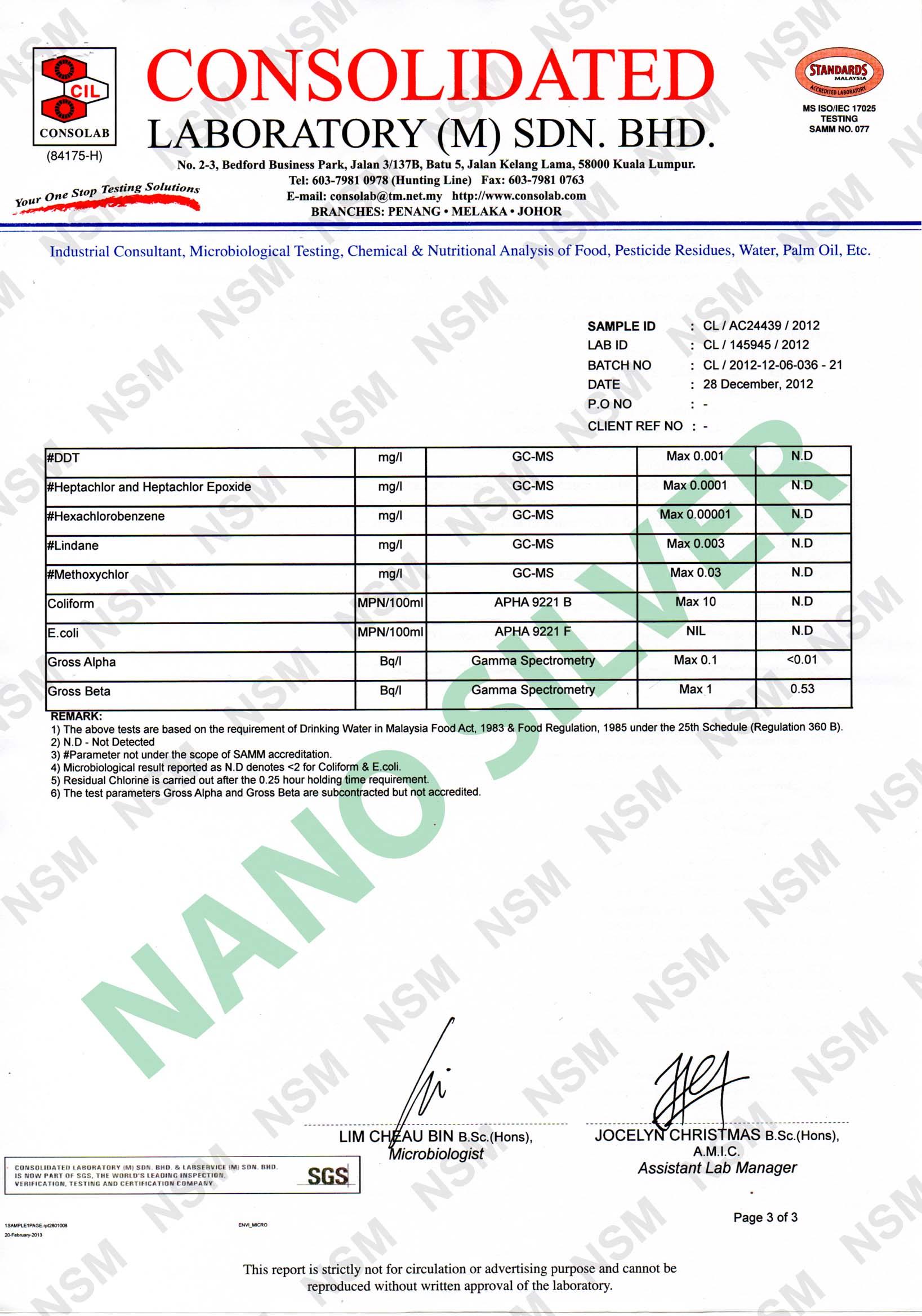Nanotec 174 4 In 1 Alkaline Water Convertor Nano Silver